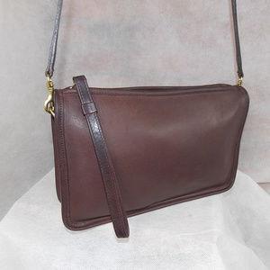 COACH Basic Bag #9455 Mahogany Brass Vintage EXC+